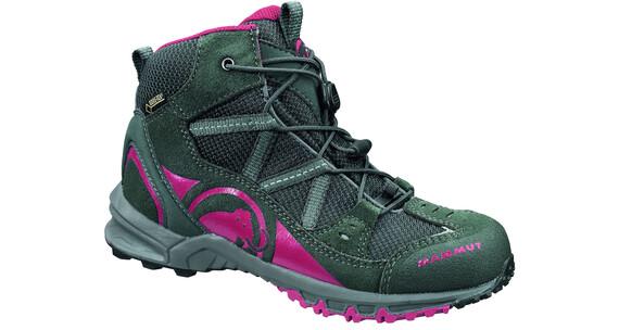 Mammut Kids Nova Mid GTX Shoes graphite-crimson